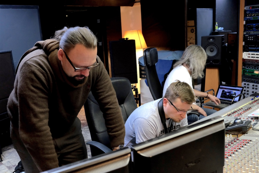 Březen 2016 - Natáčení nového CD ve Studiu ČNSO v Hostivaři